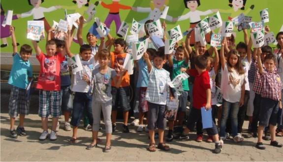 Aksa'dan Yalovalı çocuklara bayram hediyesi