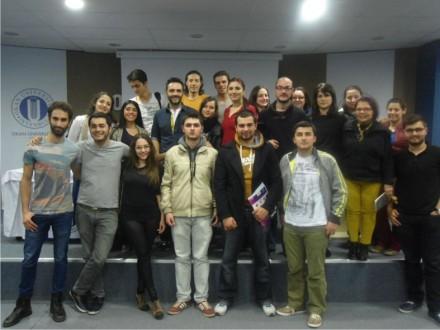 Arda Türkmen tecrübelerini gastronomi öğrencileriyle paylaştı