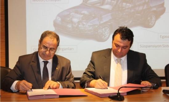 Doğu Marmara Kalkınma Ajansı Desteğiyle Otomotiv Sektörüne Yapılacak Önemli Yatırımın İlk İmzaları Atıldı