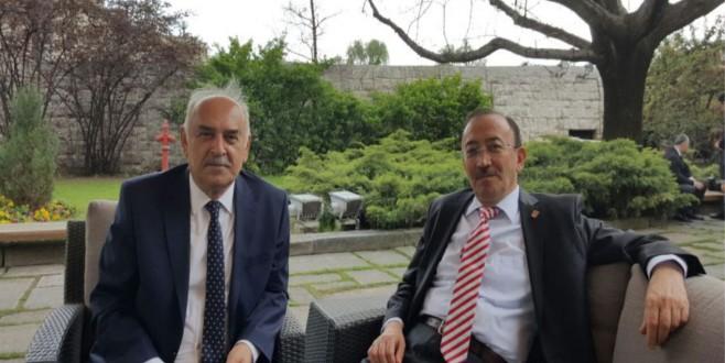 Rektör Prof.Dr. M.Niyazi Eruslunun Ankara Ziyaretleri