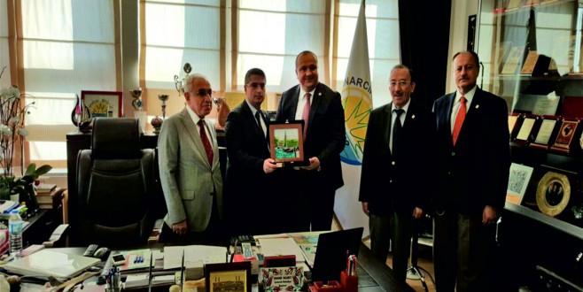 Rektör Prof.Dr. M.Niyazi Eruslu ve Heyetinin Çınarcık Ziyaretleri