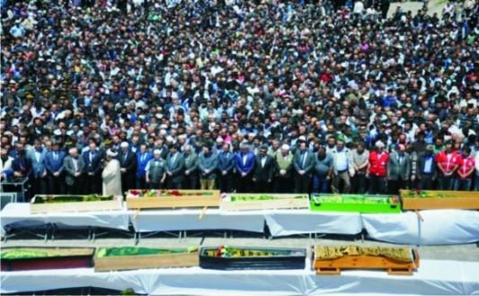 Somada acı bilonço: 282 ölü