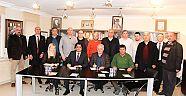 Çiçekçilik Organize Sanayi Bölgesi'nde YTSO ve SASBÜD Protokol imzaladı