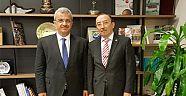 Cumhurbaşkanı Başdanışmanı Prof.Dr. Davut Kavranoğlu'na Ziyaret