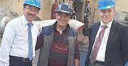 Rektör Prof. ERUSLU Körfez Döküm Fabrikası'da İncelemelerde Bulundu