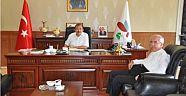 Yalova Müftüsü Mustafa ÜSKÜLÜPLÜ'den Rektör Prof. ERUSLU'ya Ziyaret