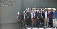 Yalova Üniversitesi İşletme Fakültesi öğrencileri AKSA Akrilik'i ziyaret etti