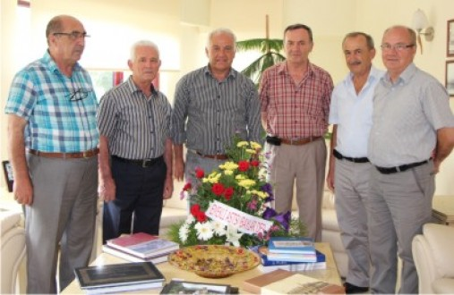 TEMAD Türkiye Emekli Astsubaylar Derneği Yalova Şubesi Odamıza Ziyarette Bulundu