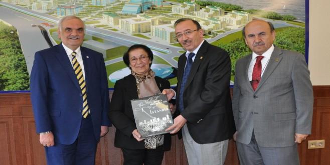 Türk Kızılayı Yalova Şube Başkanı Ömer Fitöz ve Muazzez Demiryürek'in Ziyaretleri