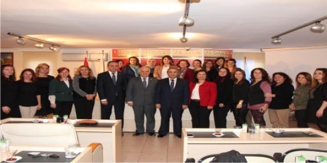 Yalova Valisi Selim Cebiroğlu'ndan Odamıza İade-i Ziyaret