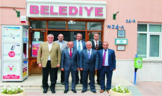 YTSO Yönetimi Subaşı, Altınova ve Kaytazdere Belediye Başkanlarına hayırlı olsun ziyaretinde bulundular
